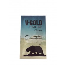 V-Gold Long Time Cream 5 ml şase